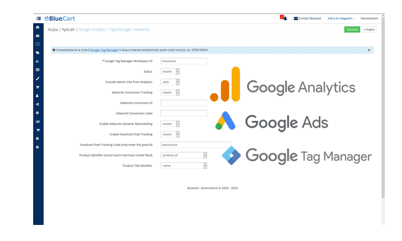 Analytics Google Tag Manager Google Ads